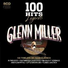 Glenn Miller (1904-1944): 100 Hits Legends (100 Timeless Big Band Classics), 5 CDs