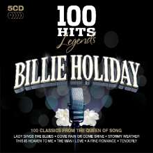 Billie Holiday (1915-1959): 100 Hits: Legends, 5 CDs