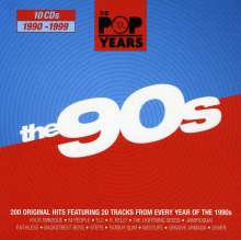 The Pop Years: The 90s, 10 CDs