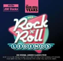 Rock 'n' Roll Legends, 10 CDs