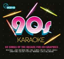 90's Karaoke, 3 CDs