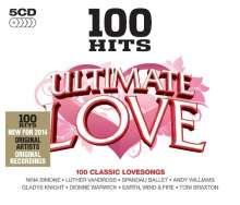 100 Hits - Ultimate Love, 5 CDs