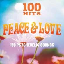 100 Hits: Peace & Love, 5 CDs