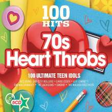 100 Hits: 70's Heart Throbs, 5 CDs