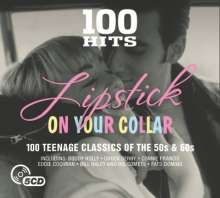 100 Hits - Lipstick On Your Collar, 5 CDs