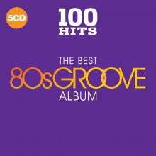 100 Hits: Best Of 80's Groove, 5 CDs