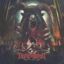 Depths Of Hatred: Inheritance (Limited Edition) (Red W/ Black & Orange Splatter Vinyl), LP