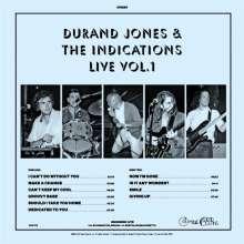 Durand Jones & The Indications: Live Vol.1 (Limited-Edition) (Translucent Blue Vinyl), LP