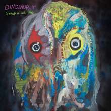 Dinosaur Jr.: Sweep It Into Space (Limited Germany Exclusive Edition) (Opaque White W/ Purple Splatter Vinyl), 1 LP und 1 CD
