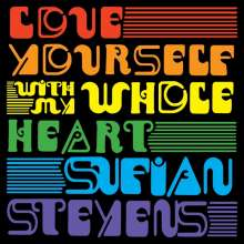 "Sufjan Stevens: Love Yourself/With My Whole Heart (Limited-Edition) (Splatter Vinyl), Single 7"""
