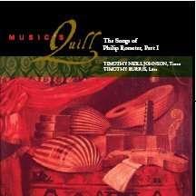 Philip Rosseter (1568-1623): The Songs of Philip Rosseter Part I, CD