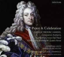 Georg Friedrich Händel (1685-1759): Coronation Anthems, CD