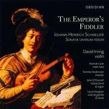 Johann Heinrich Schmelzer (1623-1680): Sonatae unarum fidium (1664) Nr.1-6, CD