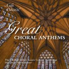Sidney Sussex College Choir Cambridge - Great Choral Anthems, CD