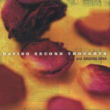 Amazing Amar: Having Second Thoughts, CD