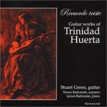 Stuart Green: Recuerdo Triste: Guitar Works Of Trinidad Huerta, CD