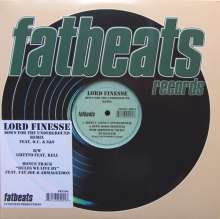 """Lord Finesse: Down For The, Single 12"""""""