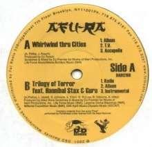 """Afu-Ra: Whirlwind Thru Cities, Single 12"""""""
