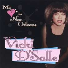 Vicki D'Salle: My Heart's In New Orleans, CD