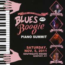 13th Annual Blues & Boogie Piano Summit 2011, CD