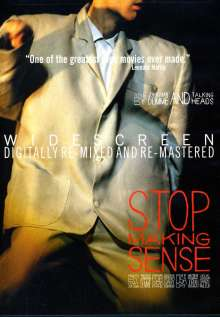 Talking Heads: Stop Making Sense, DVD