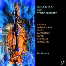 NeoQuartet - Greek Music For String Quartet, CD