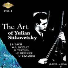 Yulian Sitkovetsky - The Art of Yulian Sitkovetsky Vol.1, CD
