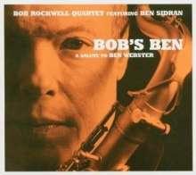 Ben Sidran & Bob Rockwell: Bob's Ben - A Salute To Ben Webster, CD