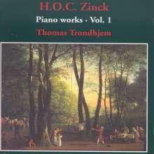 Hardenack Otto Conrad Zinck (1746-1832): Klavierwerke Vol.1, CD