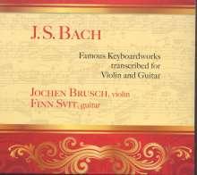 Johann Sebastian Bach (1685-1750): Französische Suite BWV 816 (arr. für Violine & Gitarre), CD