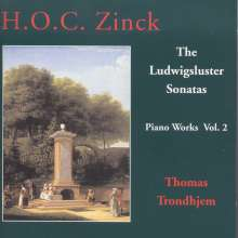 Hardenack Otto Conrad Zinck (1746-1832): Klavierwerke Vol.2, CD