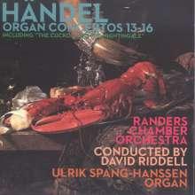 Georg Friedrich Händel (1685-1759): Orgelkonzerte Nr.13-16, CD