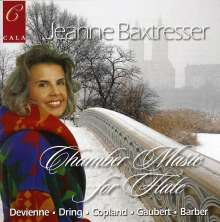 Jeanne Baxtresser - Chamber Music for Flute, CD