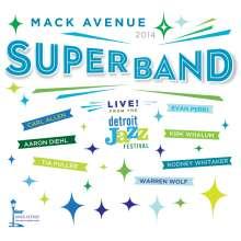 Mack Avenue Superband: Live From The Detroit Jazz Festival 2014, CD
