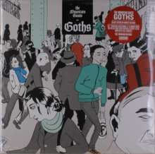 """The Mountain Goats: Goths (Deluxe-Edition) (Red Vinyl), 2 LPs und 1 Single 12"""""""