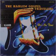 The Harlem Gospel Travelers: He's On Time (Limited Numbered Edition) (Clear Vinyl) (Mono), LP