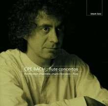 Carl Philipp Emanuel Bach (1714-1788): Flötenkonzerte Wq.22,168,169, CD