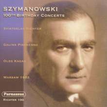 Karol Szymanowski (1882-1937): Werke für Violine & Klavier, 2 CDs