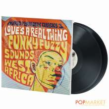 World Psychedelic Classics 3: Love's A Real Thing - The Funky Fuzzy Sounds Of West Africa, 2 LPs