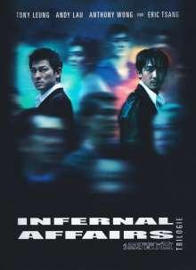 Infernal Affairs Trilogie (Blu-ray im Mediabook), 3 Blu-ray Discs