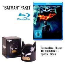 The Dark Knight (Geschenkset mit Lunchbox) (Blu-ray), 2 Blu-ray Discs