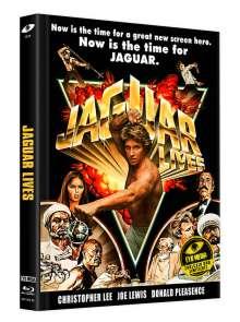 Jaguar Lives - Jaguar lebt (Blu-ray & DVD im Mediabook), 1 Blu-ray Disc und 1 DVD