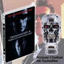 Terminator 3: Rebellion der Maschinen (Geschenkset mit T-800 Kopf Wandflaschenöffner) (Steelbook), DVD