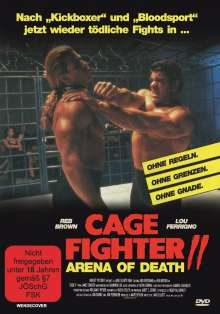 Cage Fighter 2 - Arena of Death, DVD