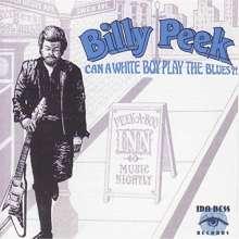 Billy Peek: Can A White Boy Play The Blues?!, CD