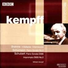 Wilhelm Kempff,Klavier, CD