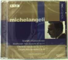 Arturo Benedetti Michelangeli,Klavier, CD