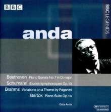 Geza Anda, Klavier, CD