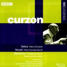 Clifford Curzon spielt Klavierkonzerte, CD
