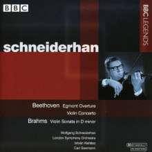 Wolfgang Schneiderhan, Violine, CD